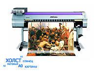 Печать на холсте