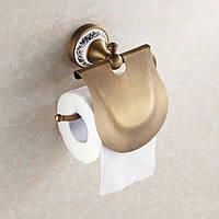 Держатель туалетной бумаги Deco DB033, бронза