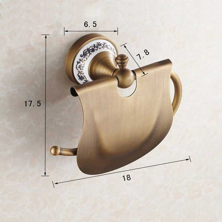 decco Держатель туалетной бумаги Deco DB033, бронза