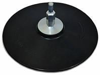 Диск для дрели Spitce 125 мм резиновый с липучкой Арт.18-990