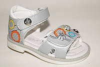 Летняя обувь детская оптом. Детские босоножки для девочек от производителя Tom.M 8931K (12/6пар, 20-25)