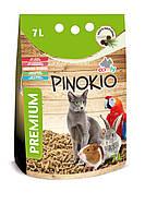 Наполнитель Comfy Pinokio для кошек древесный, 7 л, фото 1