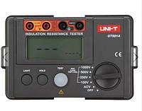 UNI-T UT501A 1000v Измеритель сопротивления изоляции заземления тестер мегомметра вольтметр с ЖК-подсветкой