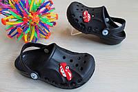 Детские темно-синие кроксы детская летняя обувь тм Виталия Crocs р. 20-21,32-33
