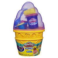 Пластилін Плей до контейнер з морозивом Play-Doh Ice Cream Cone Container - Colors/Styles May Vary, фото 1