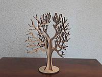 Фигурка Дерево для украшений из фанеры - 01. Заготовка для творчества
