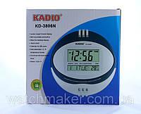 Цифровые настольные часы  KD-3806N с индикатором температуры