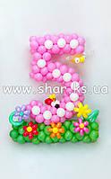 Розовая пятерочка на детский день рождения