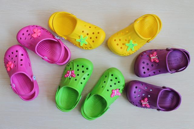 кроксы для девочки style-baby.com