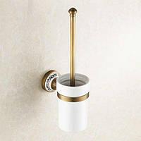 Туалетный ершик настенный Deco DB032, бронза