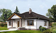 Проект одноэтажного дома hd-272