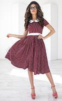 Женственное платье клеш - AV1079b