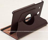 Поворотный чехол-подставка для Samsung Galaxy Tab E 9.6 SM-T560, SM-T561 Coffee