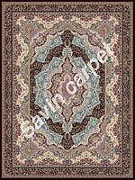 Иранский ковер (Персидский),  коллекция  Pars, Jahan Nama, Dark brown
