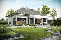 Проект одноэтажного дома hd143