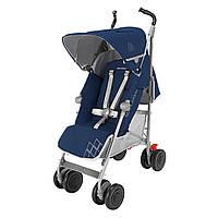 Прогулочная коляска-трость Maclaren Techno XT Medieval Blue/Silver (WM1Y070042)