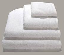 Білі махрові рушники для ніг