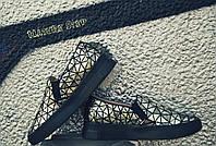 Женские стильные удобные слипоны натуральная кожа цвет: золото