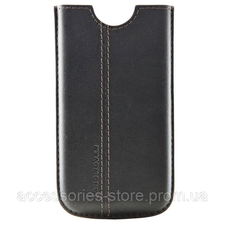 Кожаный чехол Land Rover Leather iPhone 4 Case, Black