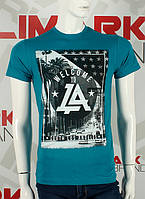 """Стильная мужская футболка """" Лос Анджелес"""" качественная"""