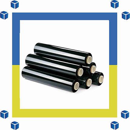 Стретч-пленка черный (стрейч) 500/20/180 (реальные размеры, скидки от 2-ух рулонов), фото 2