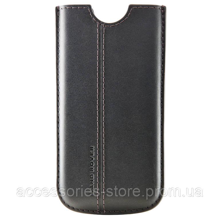 Кожаный чехол Land Rover Leather iPhone 5 Case, Black