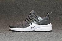 Серые мужские кроссовки Nike Presto копия, фото 1