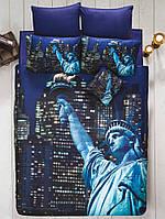Постельное белье ISSIMO HOME New York City евро (3D series)
