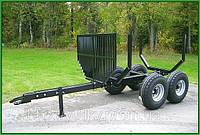 Тракторный прицеп PALMS 71 с манипулятором для леса
