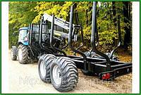 Тракторный лесовозный прицеп PALMS 142 с манипулятором