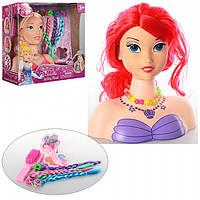 Кукла манекен - голова для причесок 3389-69 Disney princess
