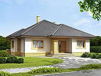 Проект одноэтажного дома hd289