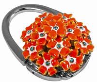 Качественный сумкодержатель Jinli JIN114 букет оранжевый