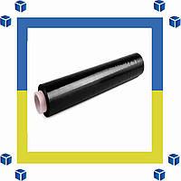 Стретч-пленка черный (стрейч) 500/20/180 (реальные размеры, скидки от 2-ух рулонов)