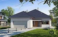 Проект одноэтажного дома hd-297