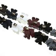 Заколки крабики для волос, материал: пластик, длина: 3,5 см, 12 штук в упаковке
