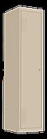 Шкаф для одежды металлический 400/1