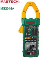 MS2015A Mastech Токоизмерительные клещи.  ACA, DCV, ACV, R, C, F, скважность, True RMS