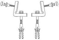 Крепление для напольных унитазов и биде Gustavsberg GB 1929900381