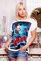 Женская футболка Disney.