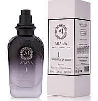 Тестер парфюмированная вода унисекс Aj Arabia Black Collection I (АДЖ АРАБИЯ БЛЭК КОЛЛЕКШН 1), 50 мл