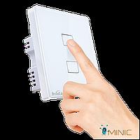 Умный сенсорный выключатель Broadlink TC2 2 кнопки