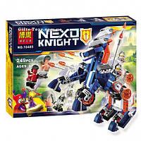 """Конструктор Nexo Knights Bela 10485 """"Ланс и его механический конь"""" 249 деталей"""