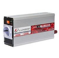 Инвертор LUXEON IPS-1200S чистая синусоида, преобразователь 12 в 220