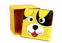 Українська оселя Зоопарк ящик - пуфик для игрушек