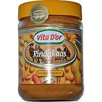 Арахисовое масло Vita D'or Pindakaas Stukjes Pinda 500g (с кусочками арахиса)