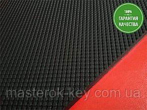 Резина набоечная СОТЫ Украина 350*350*7 мм цвет черный