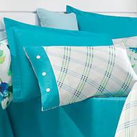 Постельное белье Issimo Sandera turquoise Двуспальный евро