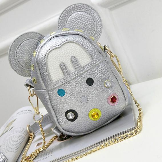 Серебряная сумочка