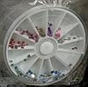 Бульонки микс пластиковые в карусельке